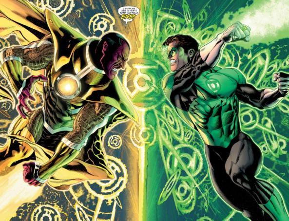 Hal Jordan vs. Sinestro
