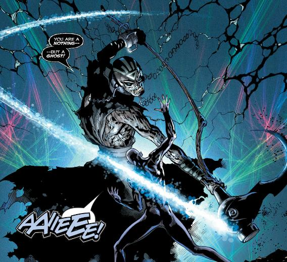 Nekron kills Volthoom The First Lantern
