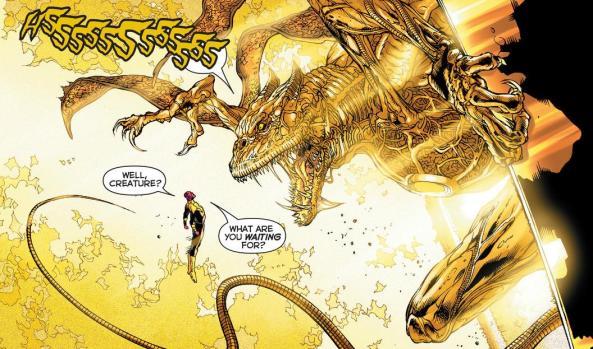 Sinestro talks smack to Parallax