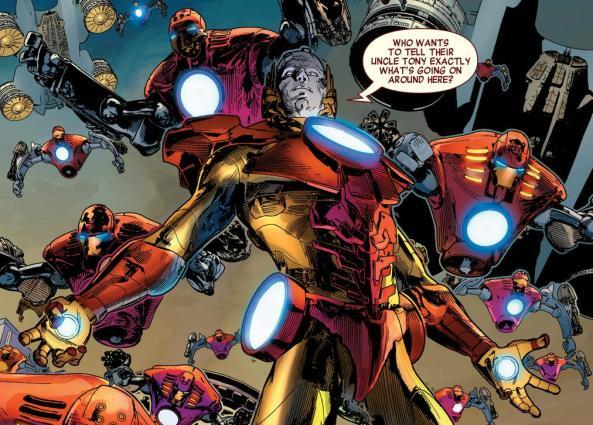 Tony Stark - twisted and evil