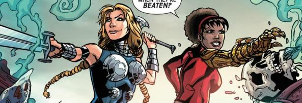 Valkyrie and Misty Knight