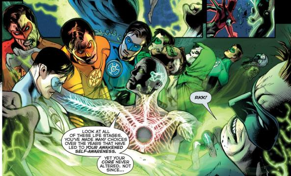Volthoom sees the many faces of Hal Jordan