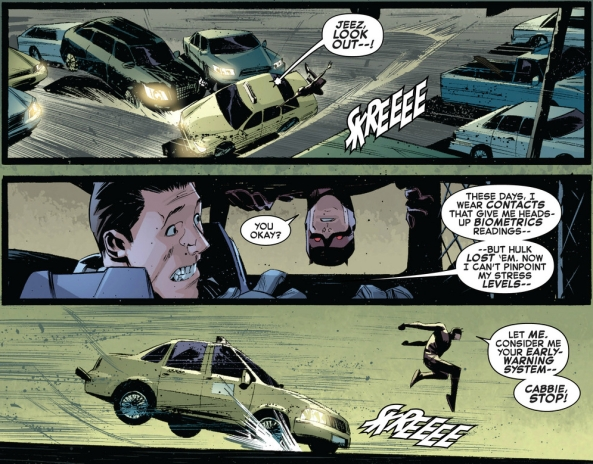 Here comes Bruce Banner, the man with many fears!