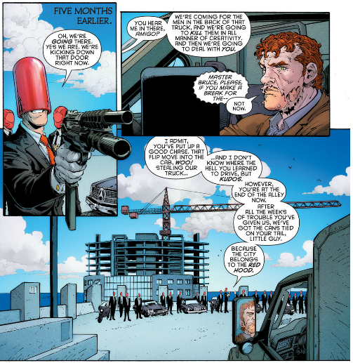 """Of course, I hear him as John DiMaggio's Joker from """"Under the Red Hood"""", not as Mark Hammill for some reason"""