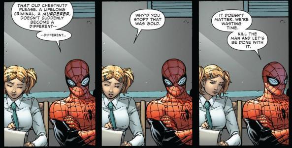 Spider-Man has no mercy on the Spider-Slayer
