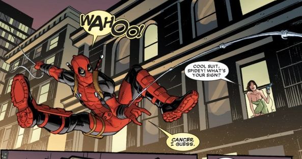 Spider-Man-Man, does whatever a Spider-Man can