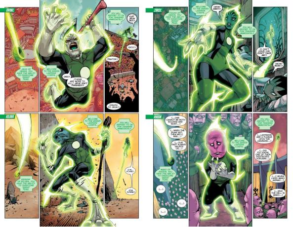 The Newest Green Lanterns