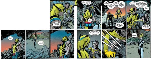Wolverine murders Wolverine