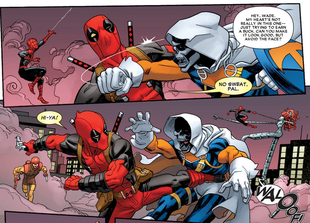 Marvel Deadpools Deadpool Art of War issue 4 (2015) (b8)