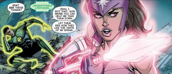 Yrra Fatality Star Sapphire John Stewart Green Lantern