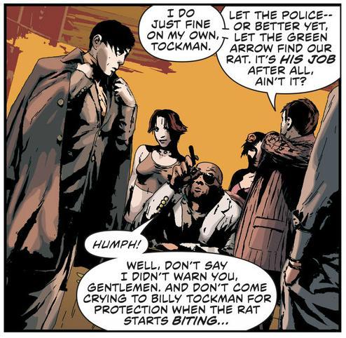 Green Arrow Crime bosses