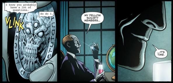 Secret Society of Villains totes love Pandora's box