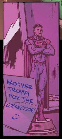 Superman trophy