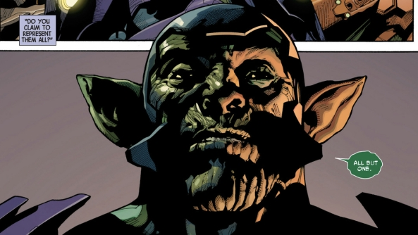 Definitely shouldn't be feeling sorry for a Skrull BUT...