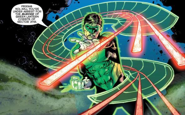 Hal Jordan twisty construct