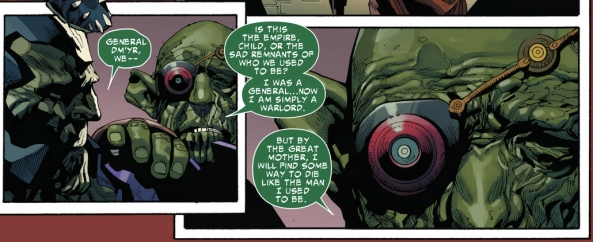 I'm half the Skrull I used to be