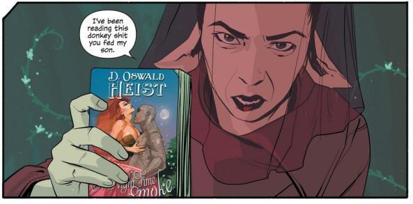 Klara doesn't care for D Oswald Heist