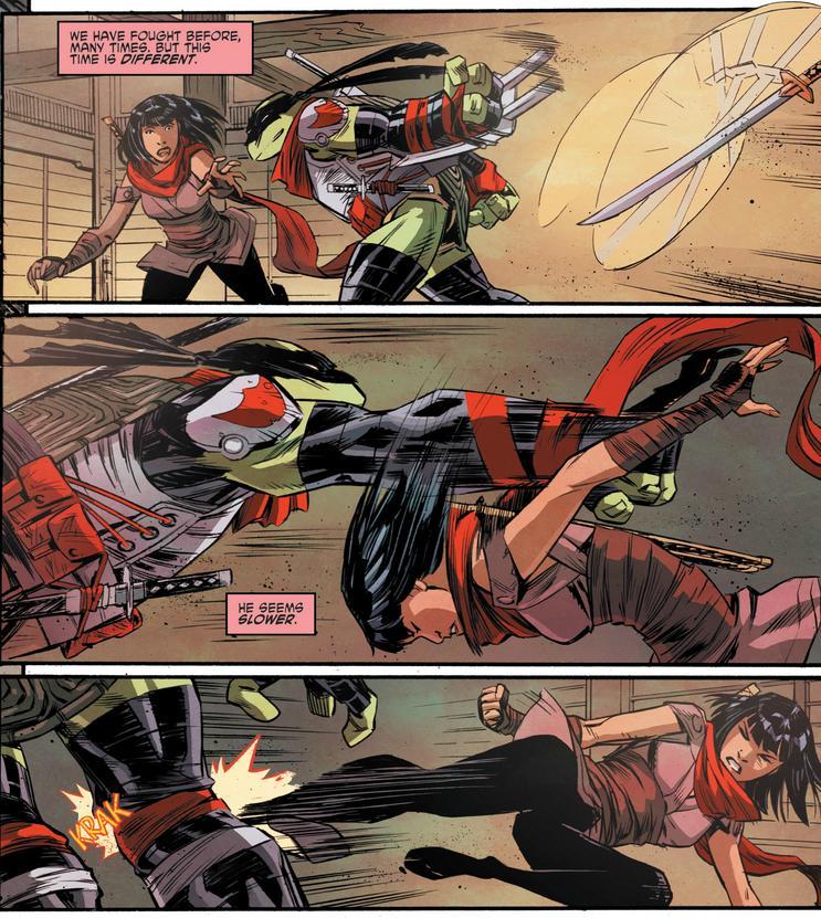 Teenage Mutant Ninja Turtles Microseries Villains 5 Karai