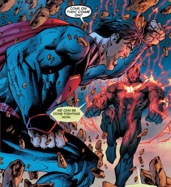 Superman v Wraith