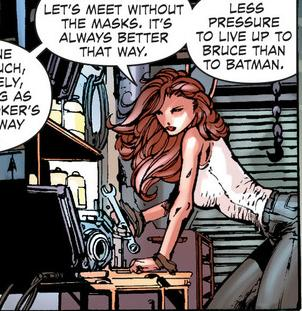 barbara gordon in forever evil