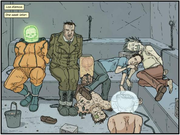 Manhattan Projects scientists in jail