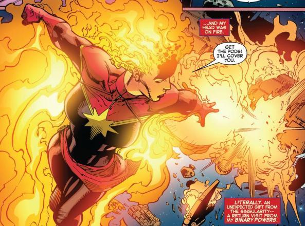 Mega Captain Marvel