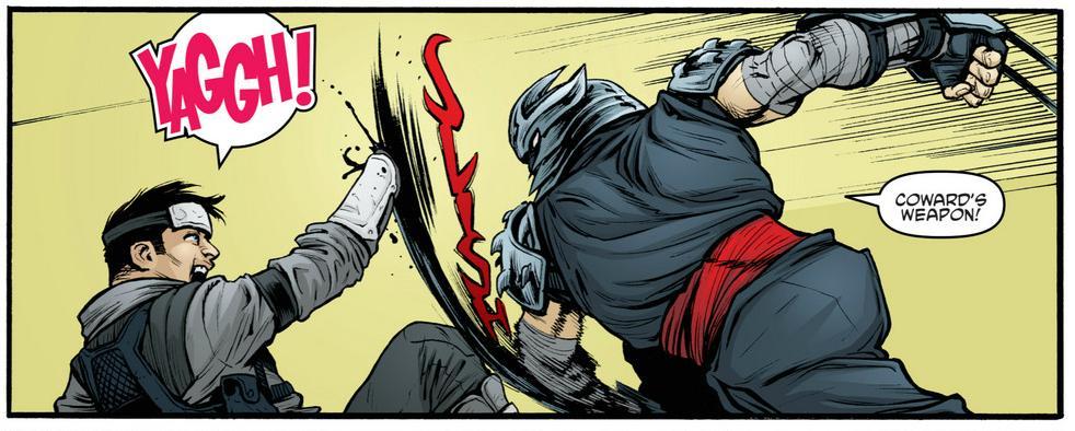 Teenage Mutant Ninja Turtles 26 Retcon Punch