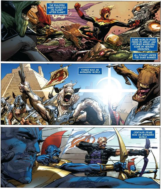 Avengers Worlds
