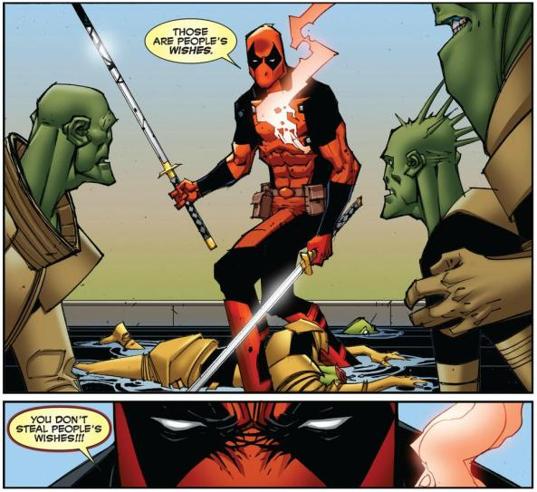 Deadpool is the real hero