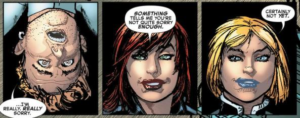 Emma Frost and Black Widow