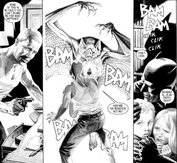 Man-bat knows who the real monster is