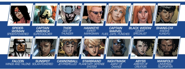 SOME Avengers! Assemble!