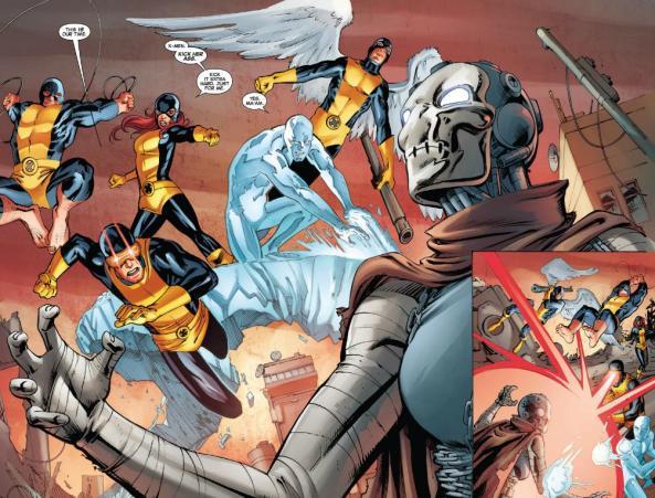 The Original X-Men vs. Xorn