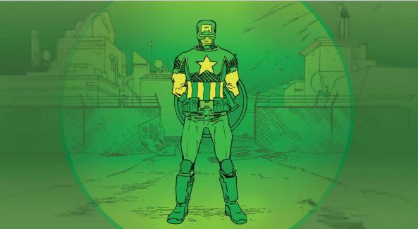 Captain America is badass