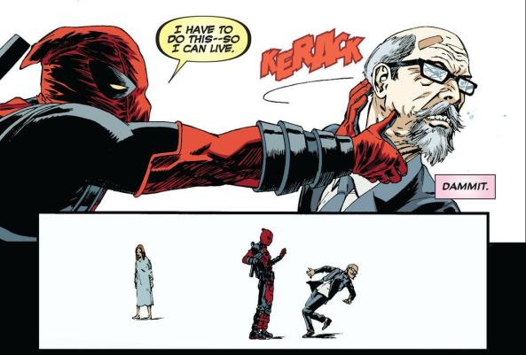 Deadpool kills butler