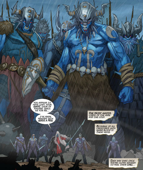 Ice Frost Giant (page 2) - Pics about space
