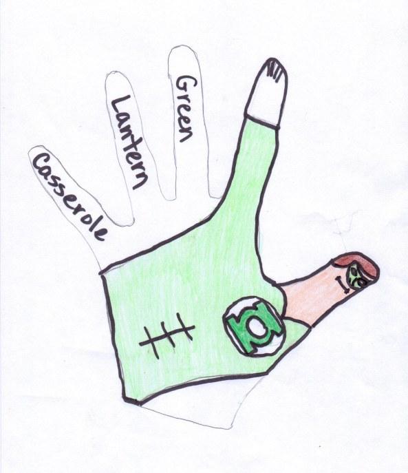 Green Lantern Caserole