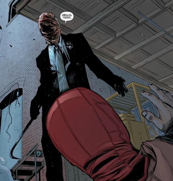 Joker, after he was red hood, Jason Todd, before he's red hood, but wearing a red hood