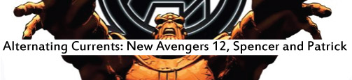Alternating Currents: New Avengers 12: Spencer and Patrick