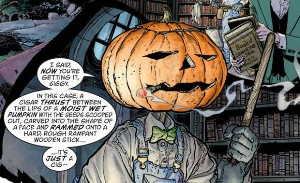 pumpkin head uses ALL THE WORDS
