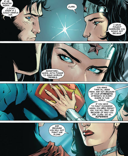 Superman wonder woman appreciation page 29 - Superman wonder woman cartoon ...