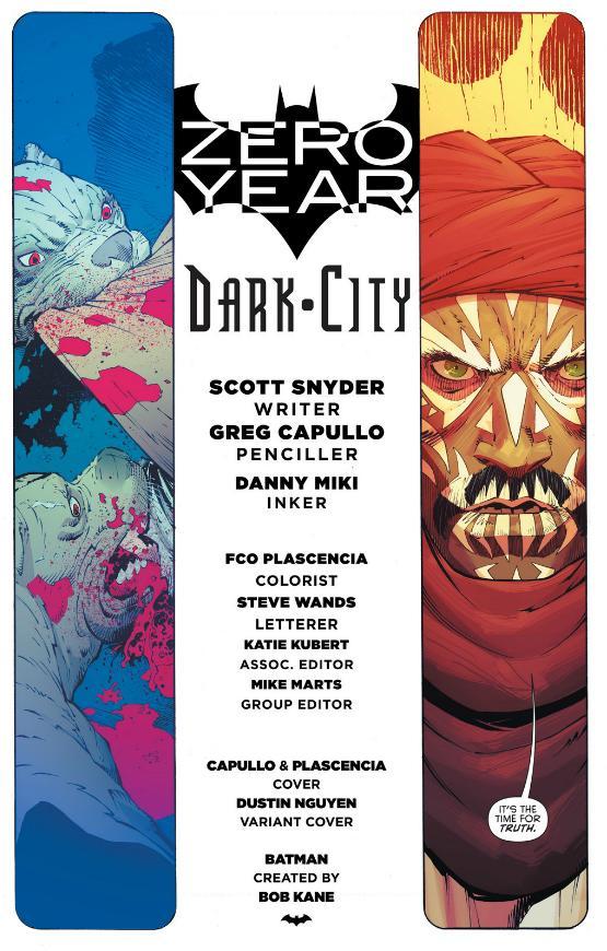 Batman 26 title page