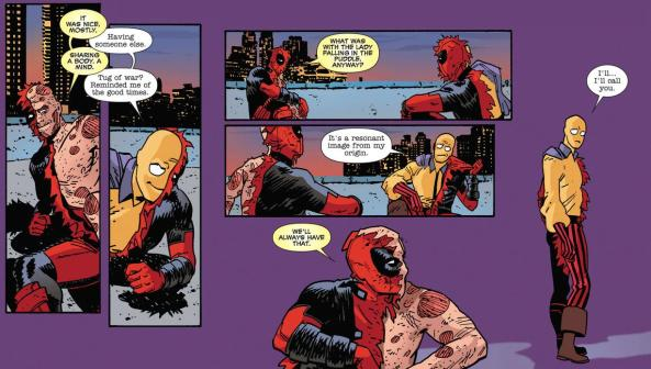 Deadpool and Madcap say goodbye