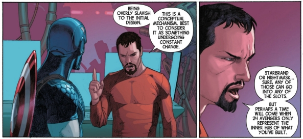How impersonal of you Tony