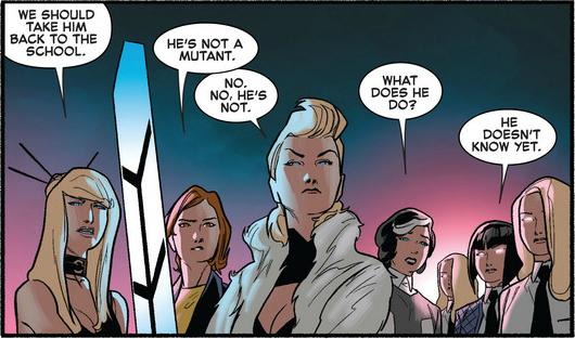 Not a mutant