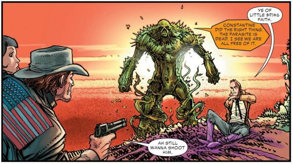 Jonah Hex, Swamp Thing and John Constantine