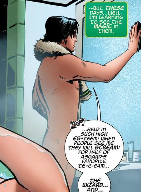 naked Loki