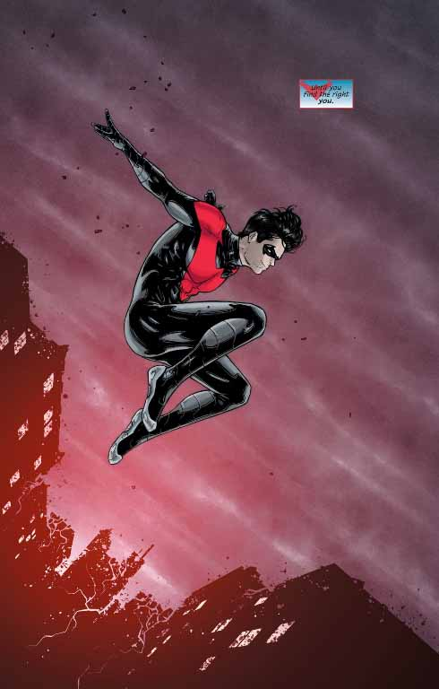 good bye nightwing