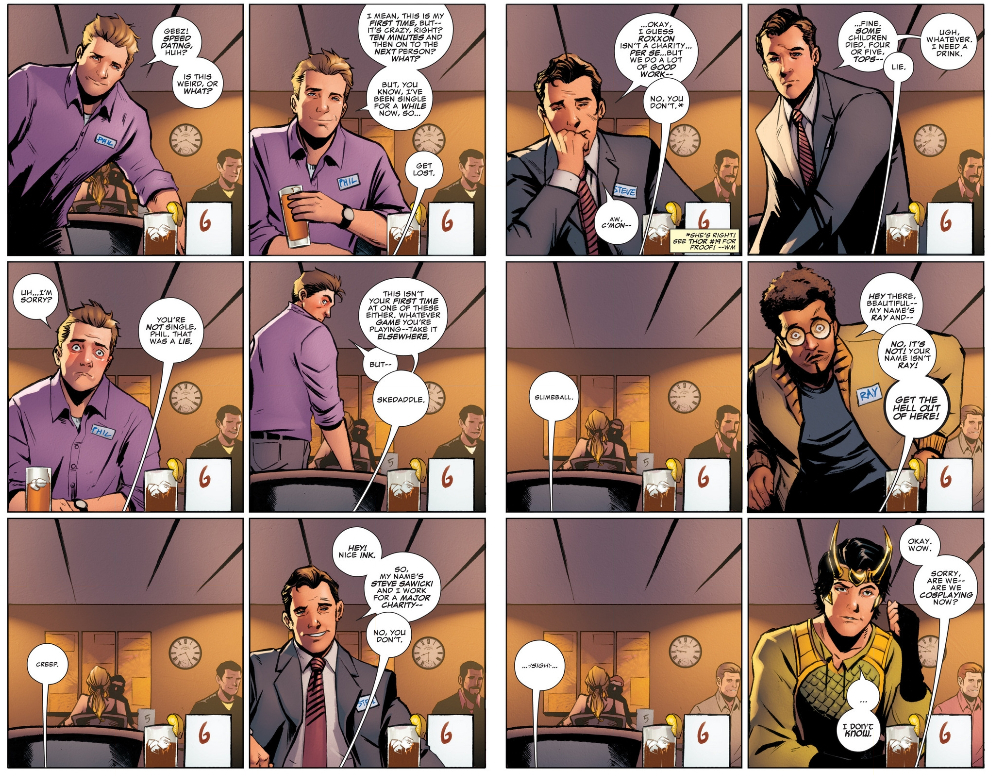 """Aug 2014. Kid Loki from Kieron Gillens Young Avengers series is """"dead"""" – long live."""