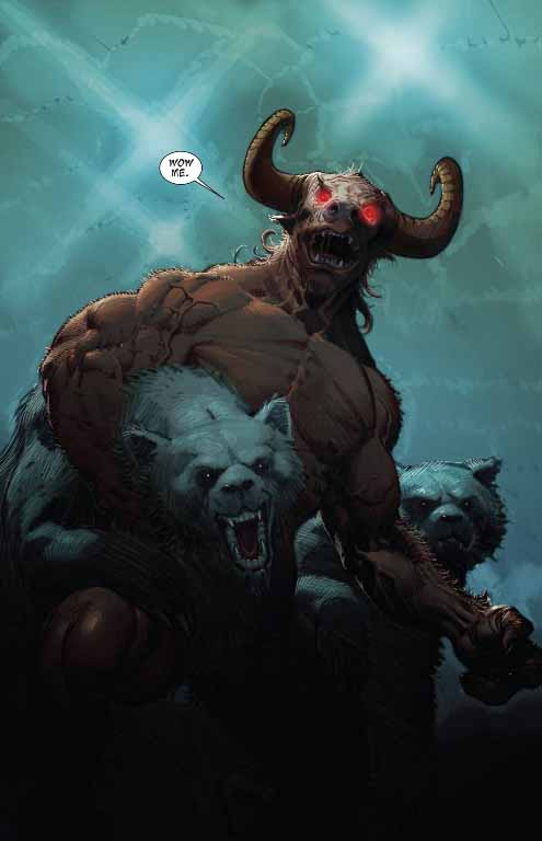 minotaur and the bear